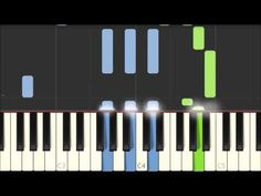 Amazing Grace - Traditional American Melody [Piano Tutorial] (Synthesia) - YouTube Free Sheet Music, Piano Sheet Music, Piano Lessons, Music Lessons, Piano Cords, Piano Keys, Piano Songs For Beginners, Music Chords, Keyboard Piano
