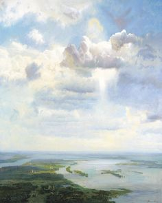 Heavens Over Holy Russia by Alexander Afonin - contemporary / allegory