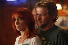 Still of Todd Lowe and Carrie Preston in True Blood