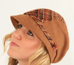 PERFECT summer and winter Hat Pattern... Womens Hat Sewing Pattern by Gina Renee Designs $9.75