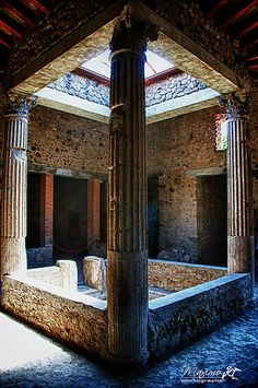 The ruins of Pompeii, Italy.... But if you close your eyes, does it almost feel like nothing changed at all?