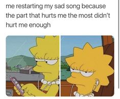 Dont Hurt Me, Totally Me, Saddest Songs, Know Your Meme, The Simpsons, Burns, It Hurts, Bring It On, Memes