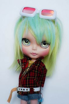 Hayley by Poohie <3 #blythe #doll