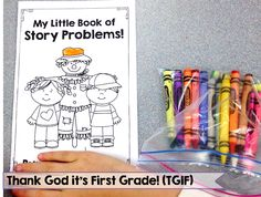 My Little Book of Story Problems! Fall themed addition and subtraction story problems for students to solve and show their thinking.