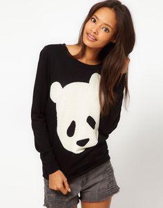 Cute panda sweater!!! :)