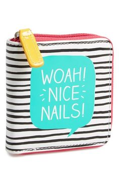 Free shipping and returns on WILD AND WOLF Happy Jackson 'Nice Nails!' Manicure Kit at Nordstrom.com. A glossy zip-around case contains everything you'll need to keep your manicure in perfect condition, including nail clippers, scissors and two emery boards.