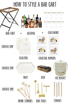 """Find out even more details on """"bar cart diy"""". Look into our website. Find out even more details on """"bar cart diy"""". Look into our website. Diy Bar Cart, Gold Bar Cart, Bar Cart Decor, Ikea Bar Cart, Bar Cart Styling, Styling Tips, Canto Bar, Bar Cart Essentials, Outside Bars"""