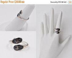 ON SALE Vintage Siam Sterling Silver by HauteVintageJewels on Etsy 60573c8684b