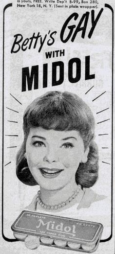 Midol turns another woman Gay