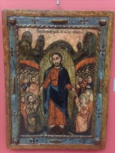 Resurrection icon, northern Transylvania, 1750 Religious Icons, Art Icon, Orthodox Icons, Ih, Christ, Objects, Album, Painting, Sacred Art