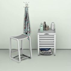Ikea Molger Table & Stool for The Sims 4
