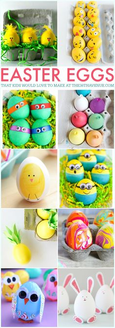 Easter is coming soon and I don't know a child that isn't looking forward to dye Easter Eggs. Today I'm sharing super cute Easter Egg Tutorials that kiddos are going to love! These egg ideas are very easy to make and they are perfect for class parties or to decorate for the holiday! Ready to see them all? Here we go! …