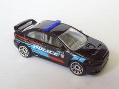 Matchbox Subaru WRX STI Police 2015 casting