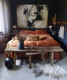 Design Despace, Design Loft, Deco Design, House Design, Design Homes, Interior Exterior, Interior Design, Bohemian Bedroom Design, Design Bedroom
