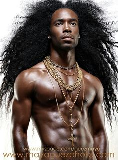 Sexy black men- I wanna dream about him every night.