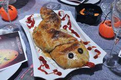 #Recetas para #Halloween: Serpiente sanguinaria
