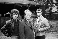 Martin Shaw, Gordon Jackson and Lewis Collins, stars of The Professionals