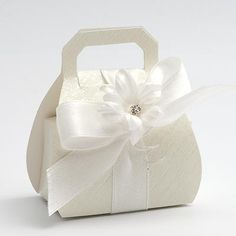 Handbag wedding favours