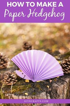 Easy Paper Crafts, Glue Crafts, Fall Crafts For Kids, Crafts To Make, Purple Crafts, Create A Face, Hedgehog Craft, Paper Birds, Face Stickers