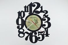 Vinyl Record Wall Clock artist is Carly Simon by vinylclockwork, $23.00