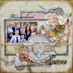 Remembered Always *Prima - Tea-Thyme Collection