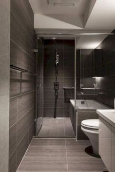 Stylish Modern Bathroom Design 69