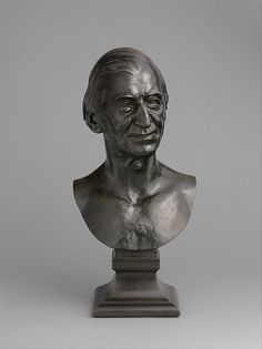 W Chester Artist Ralph Waldo Emerson Artist:Daniel Chester French (American, Exeter ...