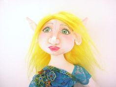Fantasy Doll Art Doll Elf Doll Fairy Doll by SilverFairyCreations, $65.00 etsy.com