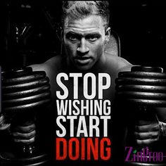 Don't wait for the day to come. Join a Gym today and start a healthy living. Log into Zingroo.com for more info #gymday #workoutquotes #Zingroo