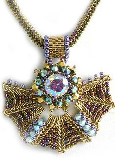 Rhea Necklace Bead Weaving Kit – Beads Gone Wild