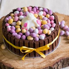 These Easter desserts are ensured to satisfy your sweet tooth. Easter is a jubilant celebration, . Read Easy Sweet Easter Cakes and Desserts Recipe to Make Chocolate Easter Cake, Milk Chocolate Ganache, Chocolate Sponge, Chocolate Cream, Easter Bunny Cake, Easter Treats, Bunny Cakes, Easter Eggs, Food Cakes