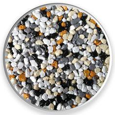 ART 3 - farebný mix. Farebné kamenivo dostupné v rôznych frakciách. Vhodné pre kamenné koberce, mozaikové omietky, dekoračné účely, zoológiu. #art4you #art4youpodlahy #podlaha #podlahy #epoxid #polyuretanovépodlahy #polyuretan #epoxidovépodlahy #farebnékamenivo #farebnýpiesok
