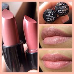 Two of the most popular NYX Round Lipstick shades