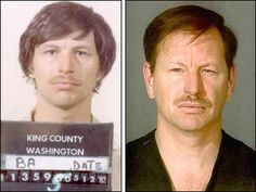Gary Leon Ridgway is seen in this 1982 King County Sheriff's booking mugshot, left, and an undated King County Sheriff's booking mugshot. Ridgway was arrested Nov. 30, 2001 for investigation of homicide in the deaths of four women slain in 1982 by the so-called Green River Killer.