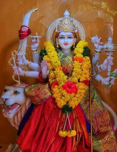 Lord Durga, Durga Maa, Lord Shiva, Maa Durga Photo, Krishna Bhagwan, Mata Rani, Sai Baba Wallpapers, Navratri Images, Durga Images