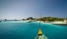 Jumeirah Vittaveli Resort, Honeymoon destinations - View of the Island