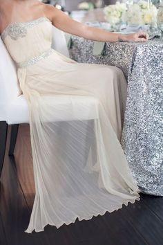 Sparkle, Shimmer, Shine. Repin by Inweddingdress.com #weddingdress