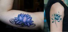 Resultado de imagem para www.tatuagem flor de lotus lilas