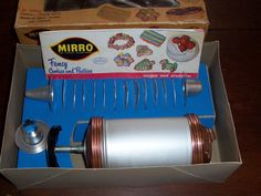 Vintage Mirro Cooky-Pastry Press...1950's Aluminum by MirandasRoom