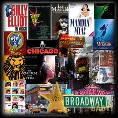 Billy Elliot, Funny Girl, Les Miserables, Mamma Mia, Wicked, The Little Mermaid, The Addams Family, Chicago, The Phantom of the Opera, Hairspray