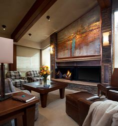 Top of the Village - contemporary - living room - denver - by Manchester Architects, Inc.