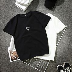 28e9282fd07 2018 Fashion Harajuku T Shirt Women Letter Printed Hip Hop T Shirt Cotton O  Neck Short Sleeve Korean Style Tops Tee