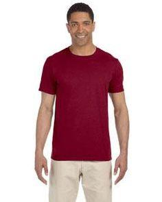 88dfea7993da30 Gildan Softstyle T-Shirt G640 Antique Cherry Red