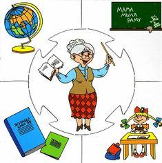 Mesetárház: Szemléltetők foglalkozásokhoz Preschool Education, Preschool Themes, Preschool Learning, Teaching, Community Workers, Community Helpers, Mig E Meg, People Who Help Us, English Games