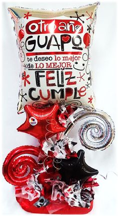 Arreglo Especial Feliz Cumple Guapo!! www.globocentro.com.gt