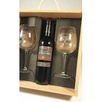 una copa de vino para todo GABRIEL norma el vidrio de vino en la 1er caja de regalo