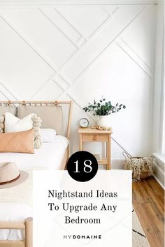 The nightstand—one piece we sometimes overlook in terms of style. But, you can definitely upgrade your nightstand to a piece that's unique and better captures the aura of your bedroom with these nightstand ideas.