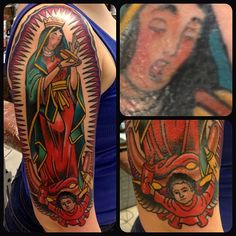 Look at that awesomeness. I love the kid at the bottom handing Ketchup and Mustard.    Jason Vaughn, Deluxe Tattoo, Chicago