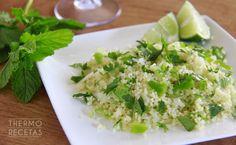 Taboulé verde # Nos encantan las ensaladas fáciles y ligeras como este taboulé verde. Además es tan rápido de hacer que no hay excusas para disfrutar de una cena vegana.  Sin duda lo añadiré a nuestra colección de ensaladas ... »