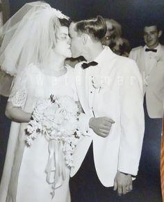 Vintage Photos 1965 Wedding 17 8'X10 Photo Proofs by vintagelady7